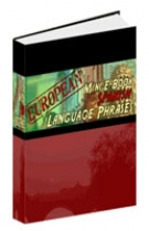 European Mini E-Book Spanish Language Phrases eBook with Resell Rights