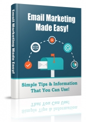 Email Marketing Made Easy eBook with Private Label Rights