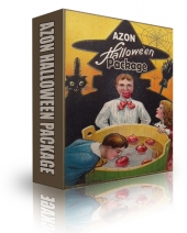 Azon Halloween Package Video with Resell Rights