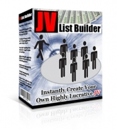 JV List Builder Software Software with Master Resell Rights