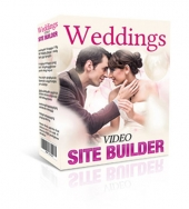 Weddings Video Site Builder Software Software with private label rights
