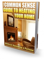 Guide To Heating Your Home eBook with Private Label Rights