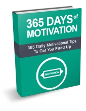 365 Days of Motivation eBook with Master Resell Rights