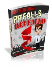 List Building Pitfalls Revealed eBook with Master Resell Rights