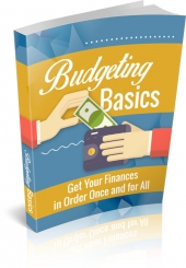 Budgeting Basics eBook with Master Resell Rights
