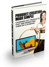Product Creation Made Simple eBook with Master Resell Rights