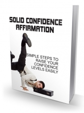 Solid Confidence Affirmation eBook with Master Resell Rights