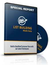 List Building Made Easy Video with Personal Use Rights