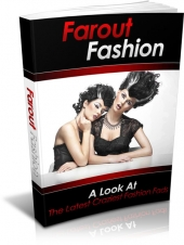 Farout Fashion eBook with private label rights
