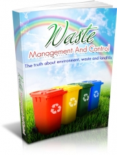 Waste Management And Control eBook with private label rights