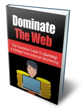Dominate the Web eBook with Master Resell Rights