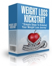 Weight Loss Kickstart eBook with Master Resell Rights