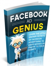 Facebook Ad Genius eBook with Personal Use Rights
