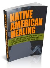Native American Healing eBook with private label rights
