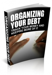 Organizing Your Debt eBook with Private Label Rights