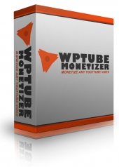 WP Tube Monetizer Plugin Software with Personal Use Rights
