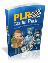 PLR Starter Pack eBook with private label rights