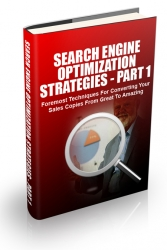 Search Engine Optimization Strategies 2015 Part 1 eBook with Master Resell Rights