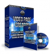 WP Video Page Creator Software with private label rights