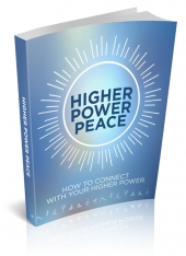 Higher Power Peace eBook with private label rights