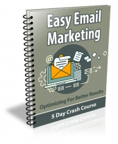 Easy Email Marketing Course Package eBook with Private Label Rights