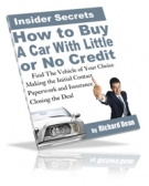 How to Buy A Car With Little or No Credit eBook with Resell Rights