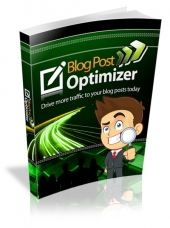 Blog Post Optimizer eBook with Master Resell Rights