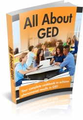All About GED eBook with Master Resell Rights