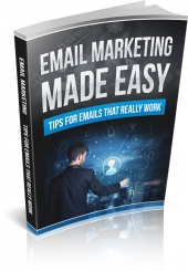 Email Marketing Made Easy 2015 eBook with Master Resell Rights
