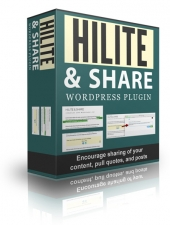 Hilite And Share WordPress Plugin eBook with Personal Use Rights