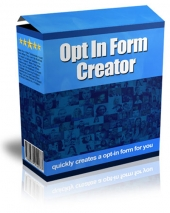 Opt In Form Creator Software with private label rights