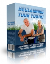 Reclaiming Your Youth eBook with private label rights