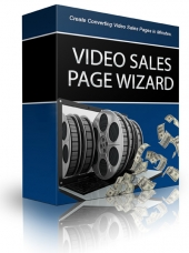 Easy Video Sales Pages Software with Resell Rights