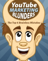 YouTube Marketing Blunders eBook with Master Resell Rights
