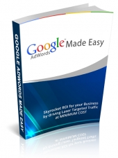 Google AdWords Made Easy Video with Personal Use Rights