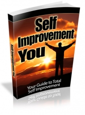 Self Improvement You eBook with Master Resell Rights