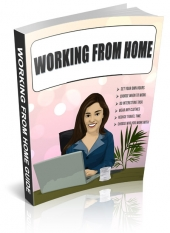 Working From Home Guide eBook with Personal Use Rights