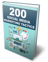 Social Media Marketing Tactics eBook with Private Label Rights