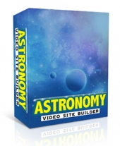 Astronomy Video Site Builder Software with Master Resell Rights
