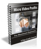 Micro Video Profits eBook with Private Label Rights