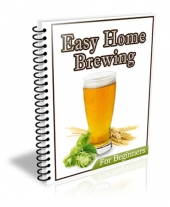 Easy Home Brewing eBook with Private Label Rights
