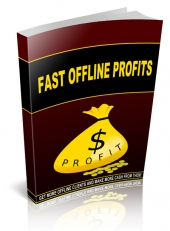 Fast Offline Profits eBook with Resell Rights