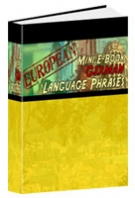 European Mini E-Book German Language Phrases eBook with Resell Rights