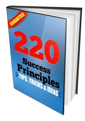 220 Success Principles eBook with Resell Rights