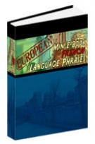 European Mini E-Book French Language Phrases eBook with Resell Rights