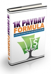 1000USD PayDay Formula Video with Personal Use Rights