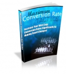 Maximum Conversion Rate Tactics eBook with Resell Rights