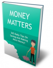 Money Matters eBook with Private Label Rights