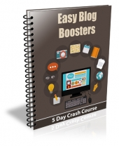 Easy Blog Booster eBook with Private Label Rights