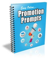 Easy Online Promotion Prompts eBook with Private Label Rights